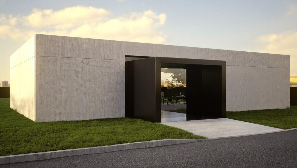 Saubere moderne sthetik architektur t - Hightech architektur ...